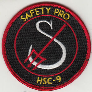 HSC-9 SAFETY PRO SHOULDER PATCH