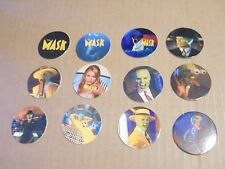 POGS MASK THE MOVIE COMPLETE  SET OF ALL 12 JIM CARREY, CAMERON DIAZ