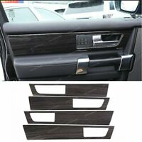 4*Door Handle Panel Cover Trim For Land Rover Discovery 4 LR4 2010-16 Wood grain