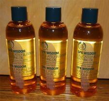 The Body Shop Spa Wisdom Delicately Blooming Bath Oil x 3 - NEW!!!