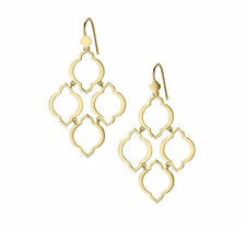 Fashion Gold Plated Brand Arabesque Chandelier Drop Earrings EH0833