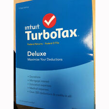 TurboTax Deluxe 2015 Federal + Fed Efile Tax Preparatio