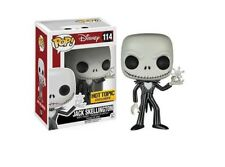 Funko POP  Disney Jack Skellington with Snowflake Hot Topic Sticker MINT!