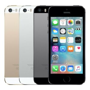🔥 Apple iPhone 5S Factory Unlocked GSM SmartPhone 16GB 32GB Gold Gray Silver