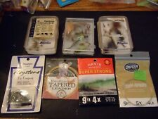 Orvis leaders fly's Fly boxes Fly fishing