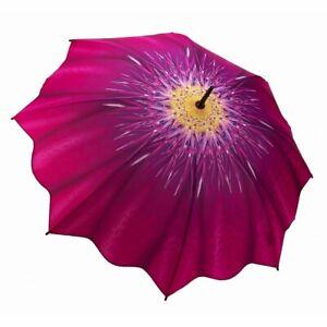 Flower Design Classic Umbrellas Auto-open