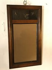 "Mirror antique Mahogany Federal 21""X11"" See8 Pics 4 Close Ups & Size. MAKE OFFER"