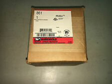 WIREMOLD 861 NEW IN BOX WOOD FLOOR BOX W/ DISPOSABLE COVER SEE PICS #B80