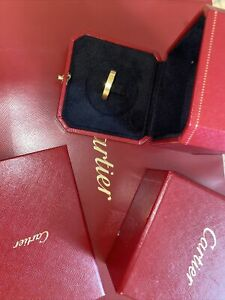 cartier love wedding band Size 6 100% Authentic