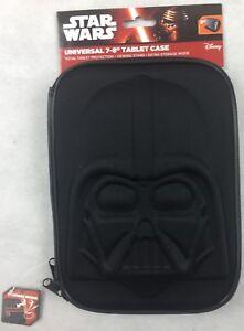 "Star Wars 7-8"" Universal Tablet case with Adjustable Corner Straps - New"