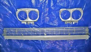 1968 PLYMOUTH FURY GRILLE WITH Headlight Bezels  LOWER AND UPPER
