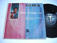 Ella Fitzgerald Sings the Rodgers and Hart Song Book Volume 1 1960 Mono LP VG++