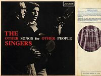 THE OTHER SINGERS other songs for other people HAF 8289 uk mono 1966 LP EX/EX