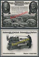 Stahlwerk Wolff Knippenberg Ichtershausen Ohrdruf Arnstadt Herzogtum Gotha 1916