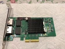 SIIG Dual-Port Gigabit Ethernet PCIe 4-Lane Card - I350-T2 Adapter, LB-GE0014-S1