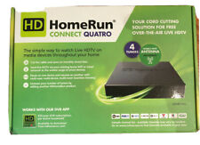 SiliconeDust HD Homerun Connect Quatro HDHR5-4US, Black, 4 channel tuner