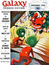 VINTAGE COMIC COVER GALAXY SCI FI CHRISTMAS EDITION ALIEN SANTA POSTER CC4967