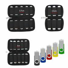 U Disk Holder USB Flash Drives Organizer Case Protective Storage Bag Soft m9 USA