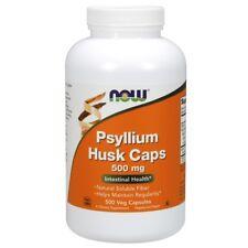NOW Foods Psyllium Husk 500mg - 500 Capsules