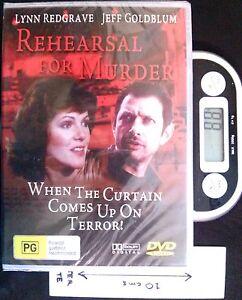 Rehearsal for Murder - DVD (New, Sealed)
