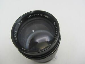 Soligor 135mm F2.8 Minolta MD Mount Lens For SLR/Mirrorless Cameras
