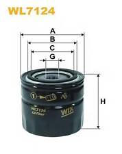 WIX FILTERS WL7124 OIL FILTER; OIL FILTER FOR MANUAL TRANSMISSION  RC516872P OE