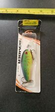 NEW OLD STOCK BOMBER FLAT A FISHING LURE GREEN CRAW