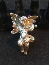 Sterling Silver Cherub Pin or Charm