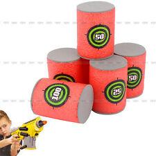 6er Pack EVA Nerf N-Strike Blaster Darts Kinder SpielzeugGewehrkugel 6.2x4.2cm