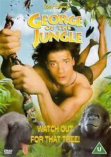 George Of The Jungle Brendan Fraser, Leslie Mann, Thomas Haden Church UK R2 DVD