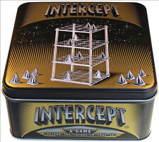 NEW Intercept Strategy Board Game - True 3D Four 4 in a Row- A Family Game