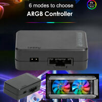 Cooler Master DC 5V SATA Power Supply Fan ARGB LED Controller for Chassis PC
