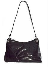 Lee Sands Black Eelskin Medium Handbag