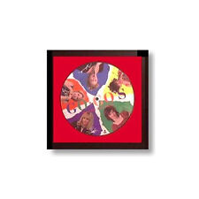 Hobby Frames 45 rpm Record Picture Disc Display Frame fits 7 inch Vinyl - BLACK