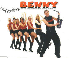 THE TRIXSTERS Benny RARE RADIO EDIT CD single SEALED BENNY HILL SHOW USA seller