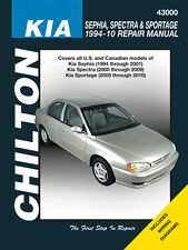 Chilton Repair Manual Kia Sephia 94-01 Spectra 00-09 & Sportage 05-10 #43000