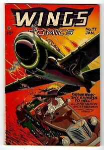 Wings Comics #77 Golden Age 1947