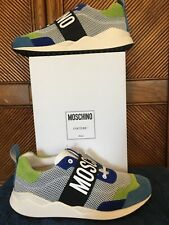 Moschino Men's Logo Sneakers Size 11