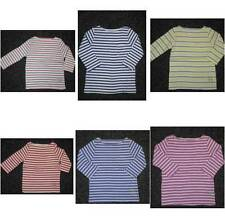 Girls' 3/4 Sleeve Sleeve Boat Neck T-Shirts, Top & Shirts (2-16 Years)
