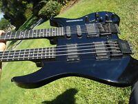 Steinberger USA Doubleneck Bass and Guitar GM4TP XM-2 Headless Transtrem