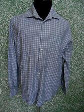 180 F3 Hugo Boss Camisa Talla XL KW 43 17 Negro We ISS de cuadros manga larga