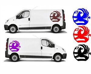 Vauxhall Style Decal For Van / Car Back Door, Panel, Vivaro Boxer Movano Combo