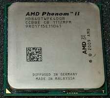 New listing Amd Phenom Ii X 4 840T 2.9Ghz Quad-Core Processor, Hd840Twfk4Dgr, Am3, Us Seller