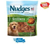 Nudges Chicken Grillers Dog Treats 16 OZ FREE SHIPPING IN USA