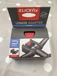 Rixen & Kaul KLICKfix Handlebar Bag Pannier Adapter Without Lock 31.8mm