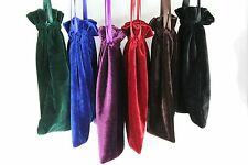 "50pcs Large 8""x8"" Velvet Bags, Jewelry Wedding Party Gift, Drawstring Pouches"