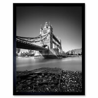 Warby Tower Bridge London UK Thames Photo Wall Art Print Framed 12x16