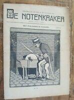 HISTORIC Original WWI Dutch Magazine - DE NOTENKRAKER - No. 4587 - 20 MAR 1915