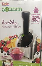 Dole Yonanas Frozen Dessert Maker Healthy Dessert Ice Cream + Recipe Book *New*