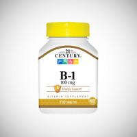 21st Century Vitamin B-1 100 mg - 110 Tablets